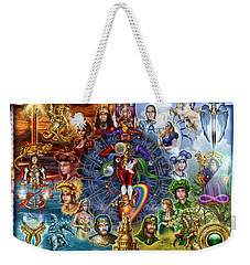 Tarot Of Dreams Weekender Tote Bag by Ciro Marchetti