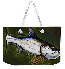 Tarpon Fish Weekender Tote Bag