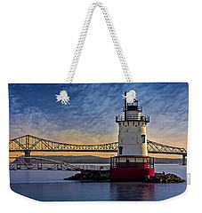 Tarrytown Light Weekender Tote Bag by Susan Candelario