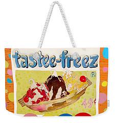 Tastee Freez Weekender Tote Bag