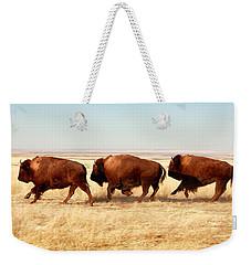 Tatanka Weekender Tote Bag by Todd Klassy