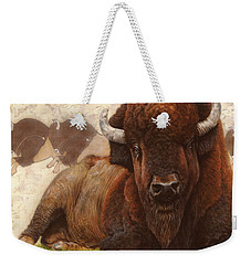 Tatanka Weekender Tote Bag