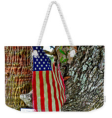 Tattered America Weekender Tote Bag