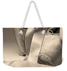 Tattered And Torn Weekender Tote Bag