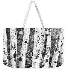 Tattoo Trees Weekender Tote Bag