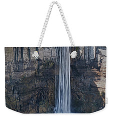 Taughannock Falls  0453 Weekender Tote Bag by Guy Whiteley