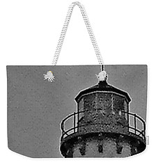 Tawas Point In The Rain Weekender Tote Bag by Daniel Thompson
