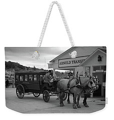 Taxi 10416 Weekender Tote Bag by Guy Whiteley