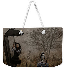 Taxi? Weekender Tote Bag by Galen Valle