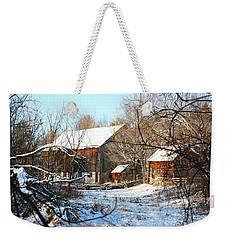 Tay Valley Barn Weekender Tote Bag by Pat Purdy