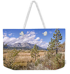 Weekender Tote Bag featuring the photograph Taylor Creek Panorama by Jim Thompson