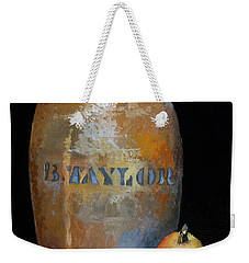 Taylor Jug With Pear Weekender Tote Bag by Catherine Twomey