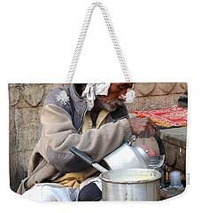 Tea Stall On The Ghats  - Varanasi India Weekender Tote Bag