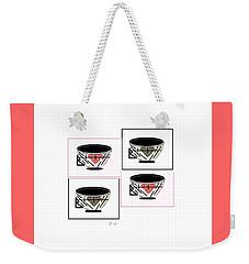 Tea Time 2 Weekender Tote Bag