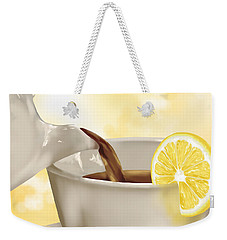 Tea Time Weekender Tote Bag by Veronica Minozzi