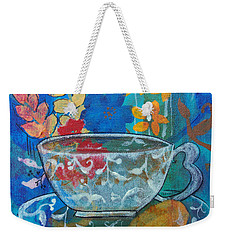 Tea With Biscuit Weekender Tote Bag by Robin Maria Pedrero
