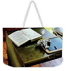 Teacher - Blackboard And Book Weekender Tote Bag