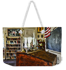 Teacher - Vintage Desk Weekender Tote Bag