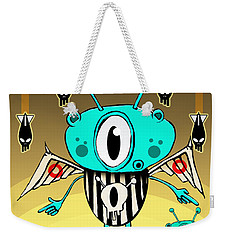 Team Alien Weekender Tote Bag by Johan Lilja