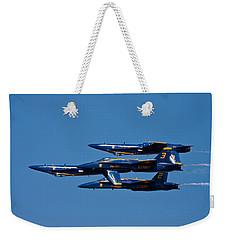 Teamwork Weekender Tote Bag by Adam Romanowicz