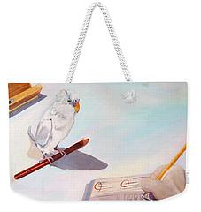 Teamwork Weekender Tote Bag