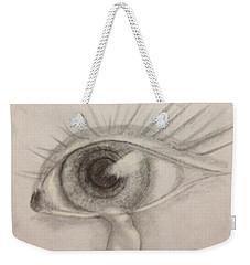 Tear Weekender Tote Bag by Bozena Zajaczkowska