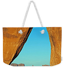 Tear Drop Arch Monument Valley Weekender Tote Bag
