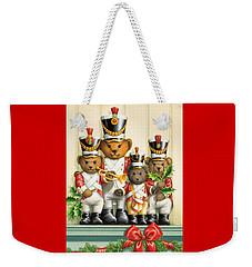 Teddy Bear Band Weekender Tote Bag