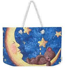 Teddy Bear Dreams Weekender Tote Bag by Megan Walsh