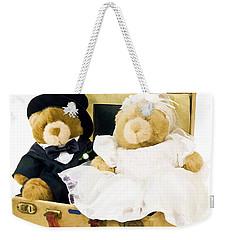 Teddy Bear Honeymoon Weekender Tote Bag