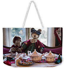 Teddy Bear Tea Party Weekender Tote Bag