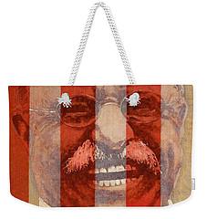 Teddy Roosevelt Weekender Tote Bag by John D Benson