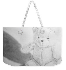 Teddy Weekender Tote Bag by Tamir Barkan