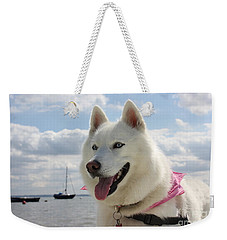 Weekender Tote Bag featuring the photograph Tehya by Vicki Spindler