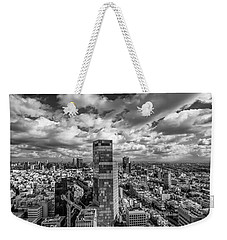 Tel Aviv High And Above Weekender Tote Bag by Ron Shoshani