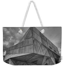 Weekender Tote Bag featuring the photograph Tel Aviv Museum  by Ron Shoshani