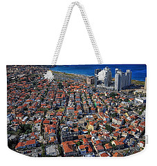 Weekender Tote Bag featuring the photograph Tel Aviv - The First Neighboorhoods by Ron Shoshani