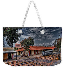 Weekender Tote Bag featuring the photograph Tel Aviv To Jerusalem by Ron Shoshani
