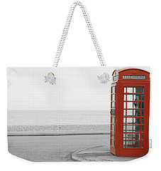 Telephone Booth Weekender Tote Bag