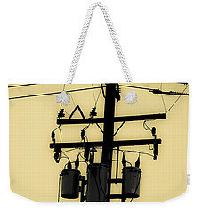 Telephone Pole 3 Weekender Tote Bag