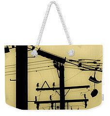 Telephone Pole And Sneakers 5 Weekender Tote Bag