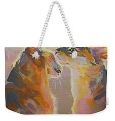Telling Secrets Weekender Tote Bag