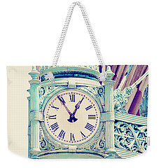 Telling Time Weekender Tote Bag by Melanie Alexandra Price