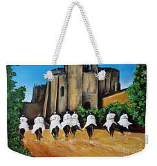 Templar Knights And The Convent Of Christ Weekender Tote Bag