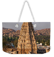 Temple At Hampi Weekender Tote Bag