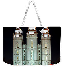 Temple Lights Weekender Tote Bag