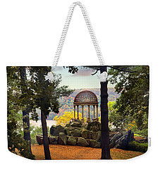 Temple Of Love In Autumn Weekender Tote Bag