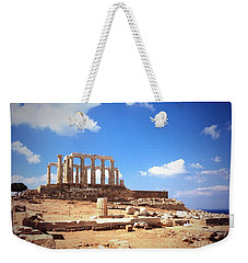 Temple Of Poseidon Vignette Weekender Tote Bag
