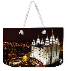 Temple Square Weekender Tote Bag