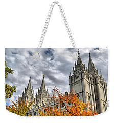 Temple Trees Weekender Tote Bag
